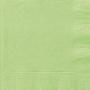 Juego de 20 Servilletas Verde Pastel