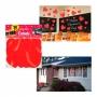 Juego de 30 Corazones Rojos Decorativos