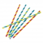 Juego de 30 pajitas multicolores