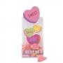 Juego de 6 bolsas de corazones para dulces