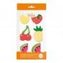 Juego de 6 Figuras de Azúcar Frutas