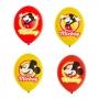 Juego de 6 Globos Mickey y Amigos