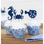 Juego de 6 wrappers para Cupcakes Ahoy