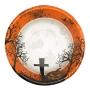 Juego de 8 bowls cementerio Halloween