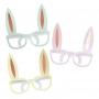 Juego de 8 Gafas de Conejo Colores Pastel