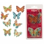 Juego de 8 Obleas Mariposas