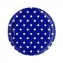 Juego de 8 Platos Blue Royal Dots 19 cm