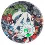 Juego de 8 Platos Los Vengadores 23 cm Compostables