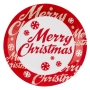Juego de 8 platos Merry Christmas