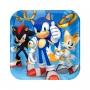 Juego de 8 Platos Sonic 18 cm