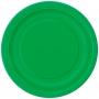 Juego de 8 Platos Verdes 17 cm