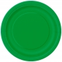 Juego de 8 Platos Verdes 22 cm