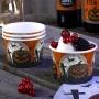 Juego de 8 tarrinas para dulces cementerio Halloween