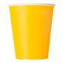 Juego de 8 Vasos Amaraillos