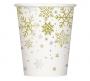 Juego de 8 Vasos Copos de Nieve