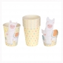 Juego de 8 vasos de la colección Llama Love