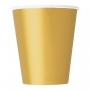 Juego de 8 Vasos Dorados