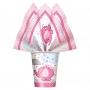 Juego de 8 Vasos Elefante Rosa