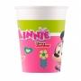 Juego de 8 Vasos Minnie Mouse Happy