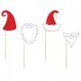 Kit de 4 Accesorios Santa Claus y Elfo