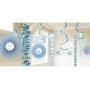 Kit de Decoración Colgante Comunión Azul