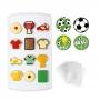 Kit Molde para Chocolate Fútbol