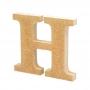 Letra de Madera H 12cm