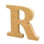Letra de Madera R 12cm