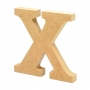 Letra de Madera X 12cm