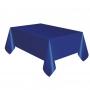 Mantel de Plástico Azul Marino