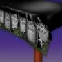 Mantel de Plástico Cementerio