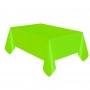 Mantel de Plástico Verde Pistacho