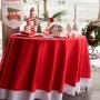 Mantel Papá Noel Navidad 220 cm