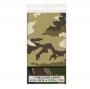 Mantel Plástico Camuflaje Militar