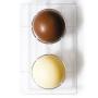 Molde de policarbonato esferas de chocolate 10cm