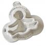 Molde de Silicona Bebé con Pañal