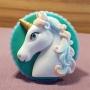 Molde de Silicona Cabeza de Unicornio