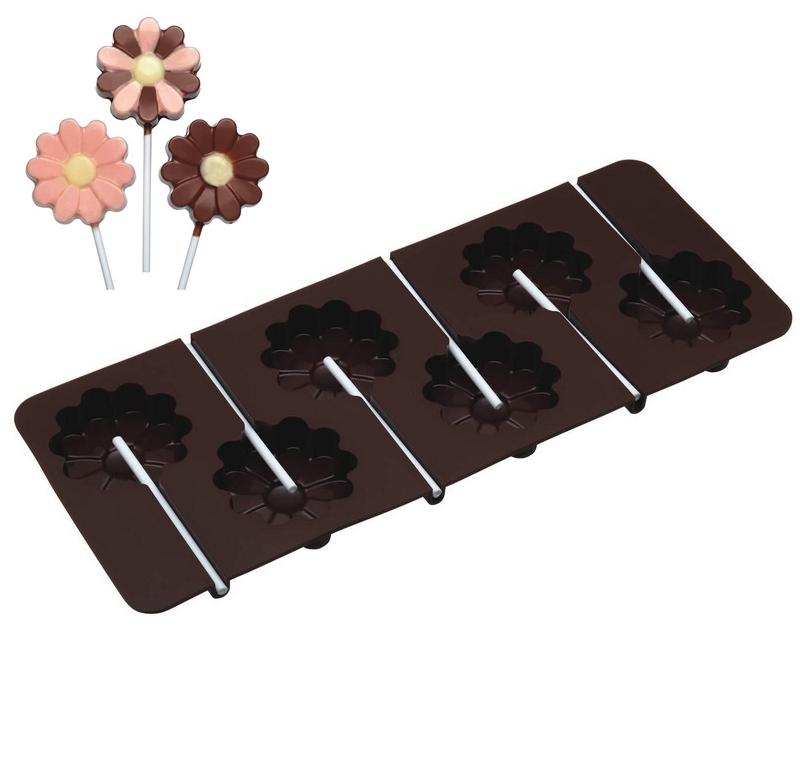 Molde de silicona con forma de flor Kitchen Craft