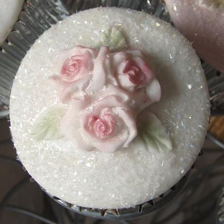 Molde de silicona Cupcake Top Roses