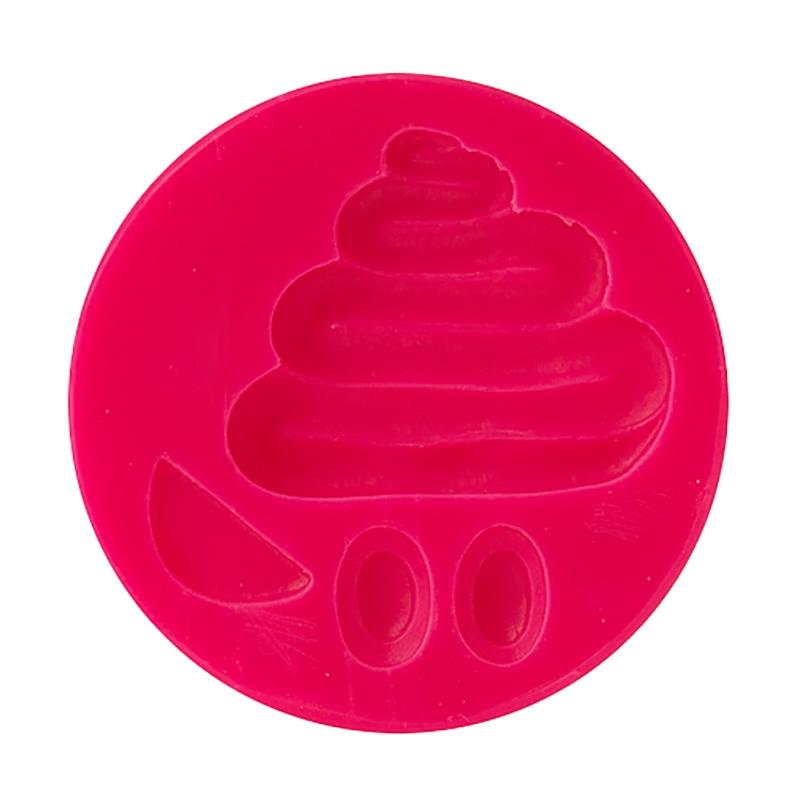 Molde de silicona Emoticón 4cm