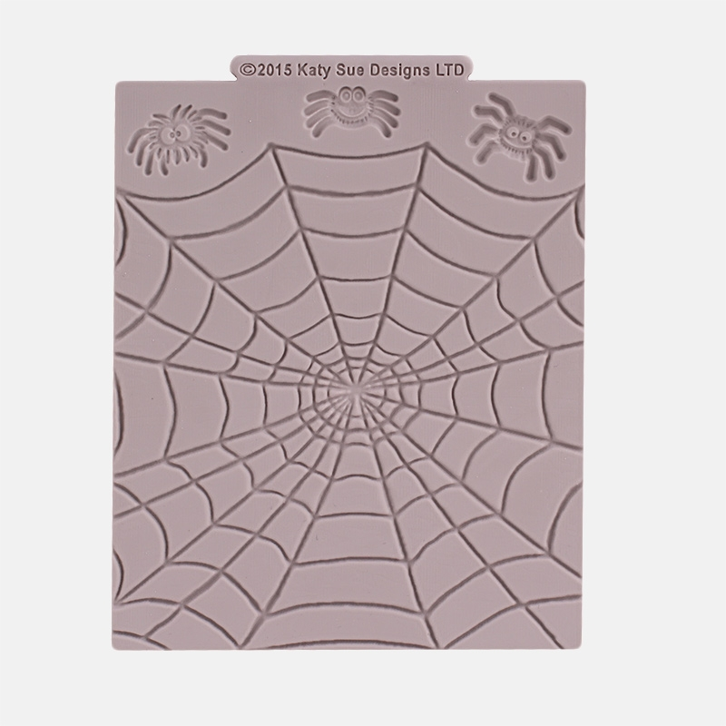 Molde de silicona Tela de araña y arañas