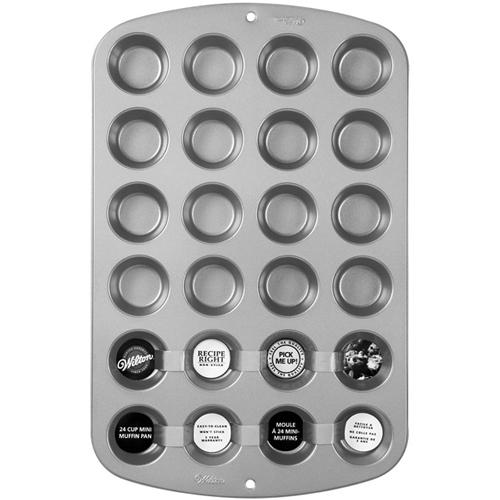 Molde para 24 mini cupcakes