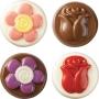Molde para chocolate Rosas y Flores