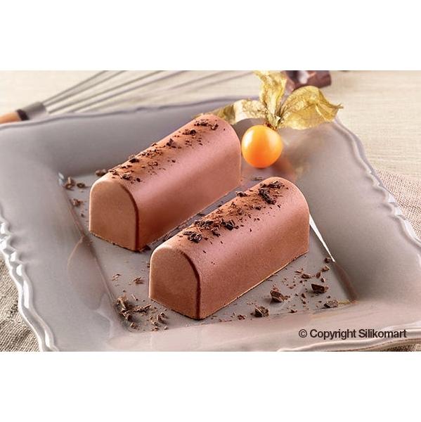 Molde de Silicona para Chocolate Tronco Mediano