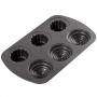 Molde para hornear cupcakes 3D