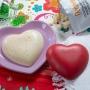 Molde policarbonato para chocolate corazones 10cm
