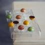 Molde policarbonato semiesferas 2,5cm
