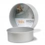 Molde Redondo de Aluminio Anodizado 30 cm x 10 cm
