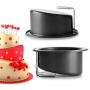 Molde redondo para tartas inclinadas 17,5 x 10cm