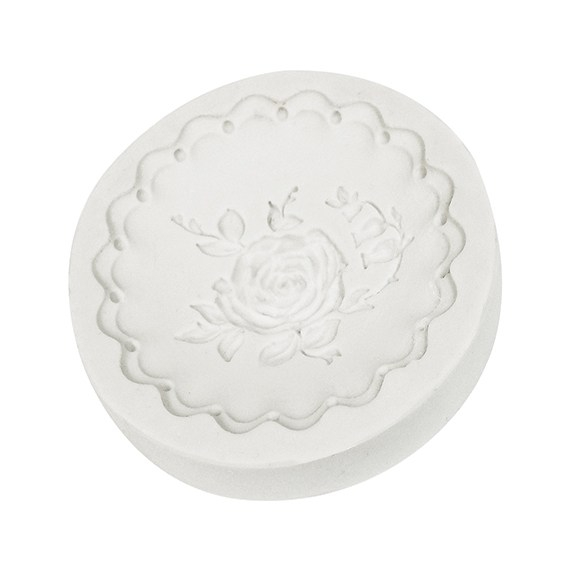 Molde de Silicona Rosa Vintage